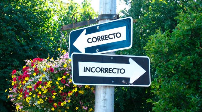 ¿Cuál es el camino correcto?