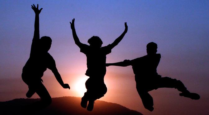 Vive tu vida con alegría